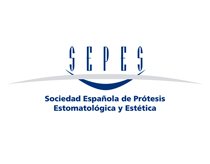 Logo SEPES - Sociedad Española de Prótesis Estomatológica y EstéticaSEPES - Sociedad Española de Prótesis Estomatológica y Estética
