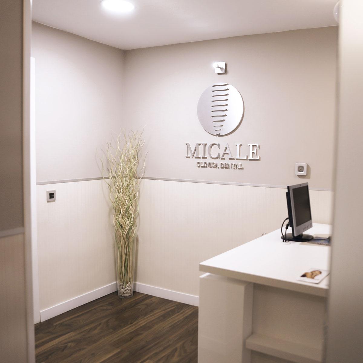 Instalaciones Clínica Dental Micale - Recepción